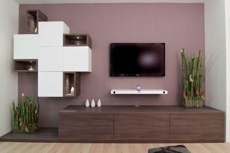 Moderne Wohnzimmer EFurniture für Erholung und Beisammensein